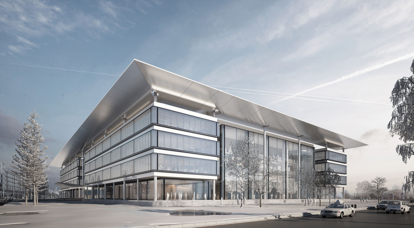 Cleveland Clinic CWRU Health Education Campus building rendering