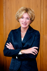headshot of CWRU President Barbara R. Snyder